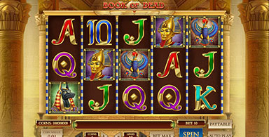 Book of the Dead video slot