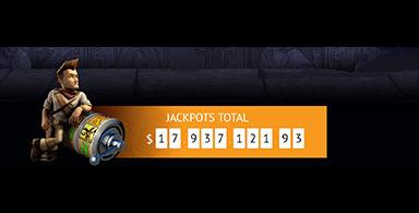 A jackpot at a casino