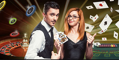 Play with live dealers