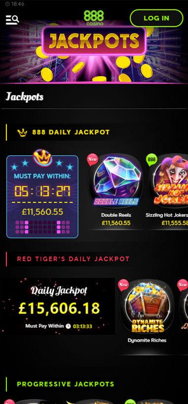 888 Mobile Casino Review