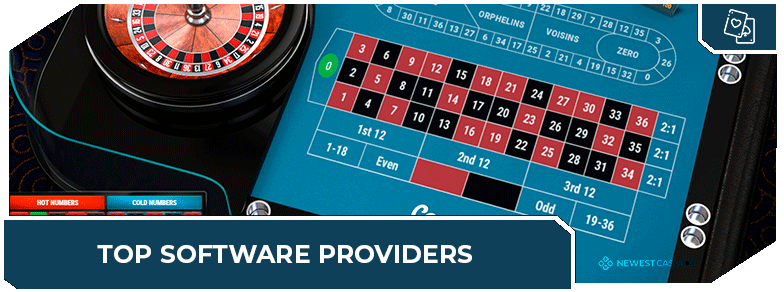 best online roulette site software providers