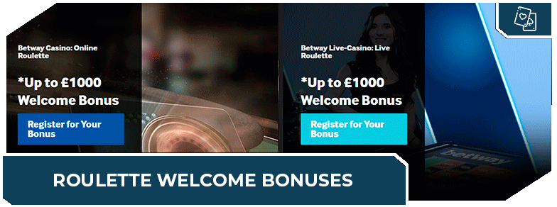 best online roulette sites welcome bonuses