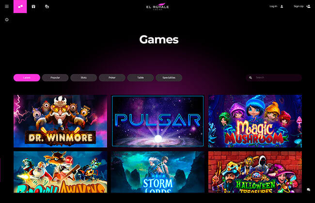 Royale Casino Games