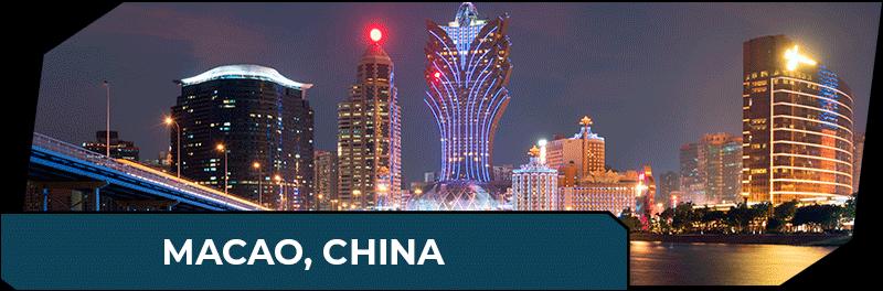 Macao China Gambling Destination
