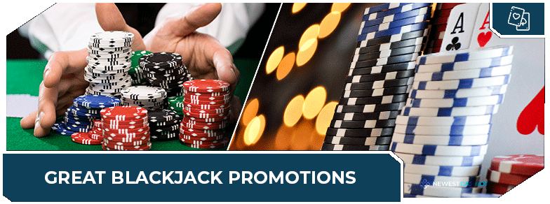 online blackjack casinos promotions