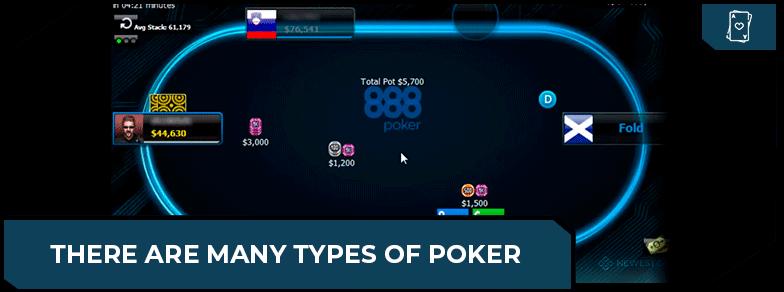 poker game types