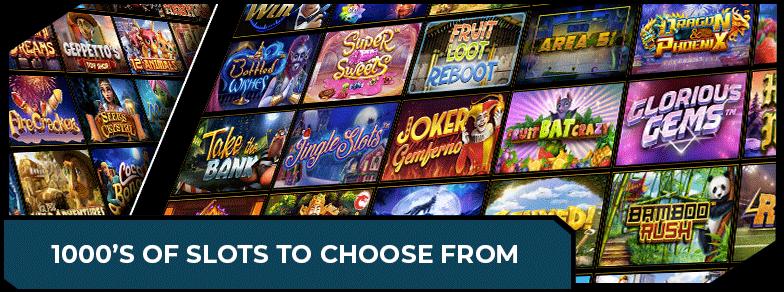 Slots casino games variety