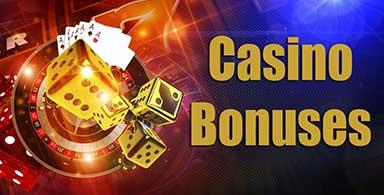 Online casino bonuses.