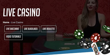 Some types of live dealer casino games