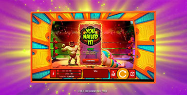 Realtime Gaming's animated 3D Lucha Libre 2 slot.