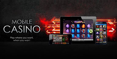 Gamblers can play on-the-go.