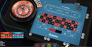 Software and gaming facilities for roulette