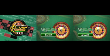 Roulette games.