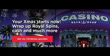 A Christmas bonus at a casino.