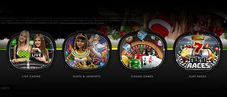 Types of casino games.